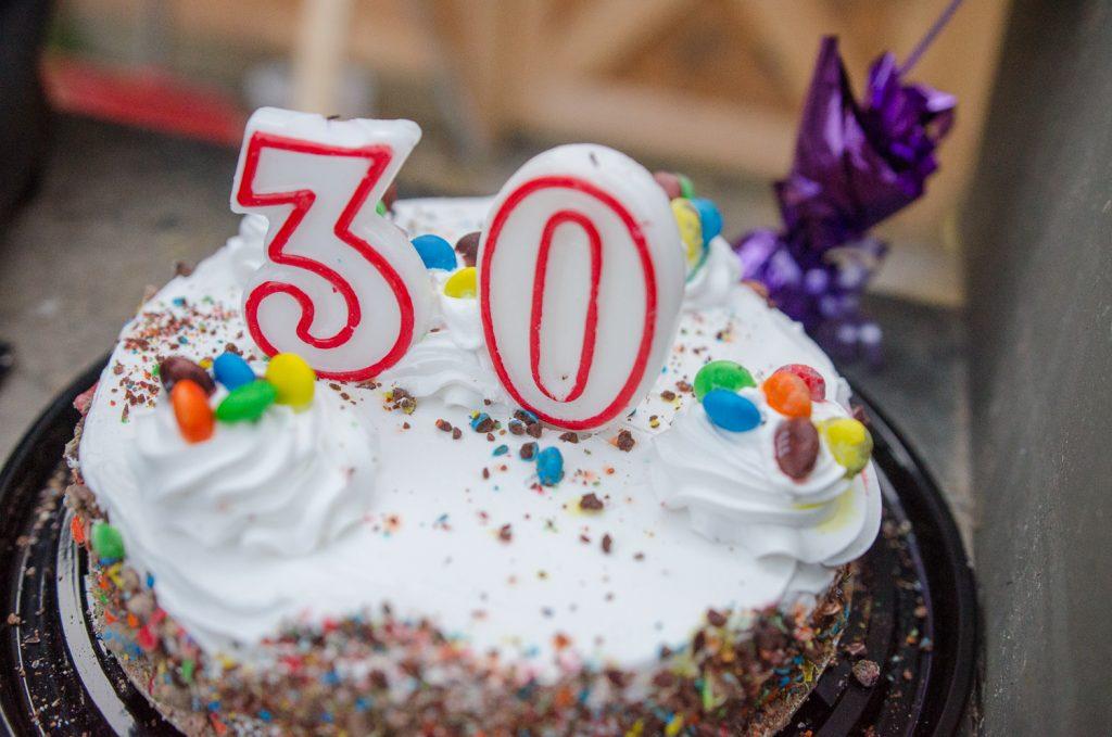 30th Birthday Cake Smash Session Glasgow Cake Smash Photographer