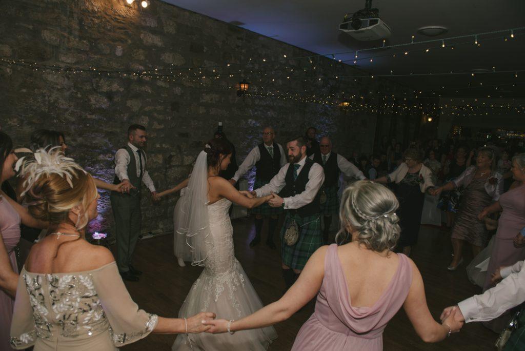 culcreuch castle wedding photography scotland