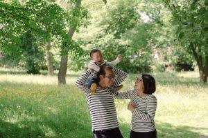 Natural family photography Glasgow Scotland